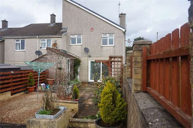 4 Bedrooms Semi Detached House for sale in Twyn Gardens, Cefn Fforest, BLACKWOOD, Caerphilly