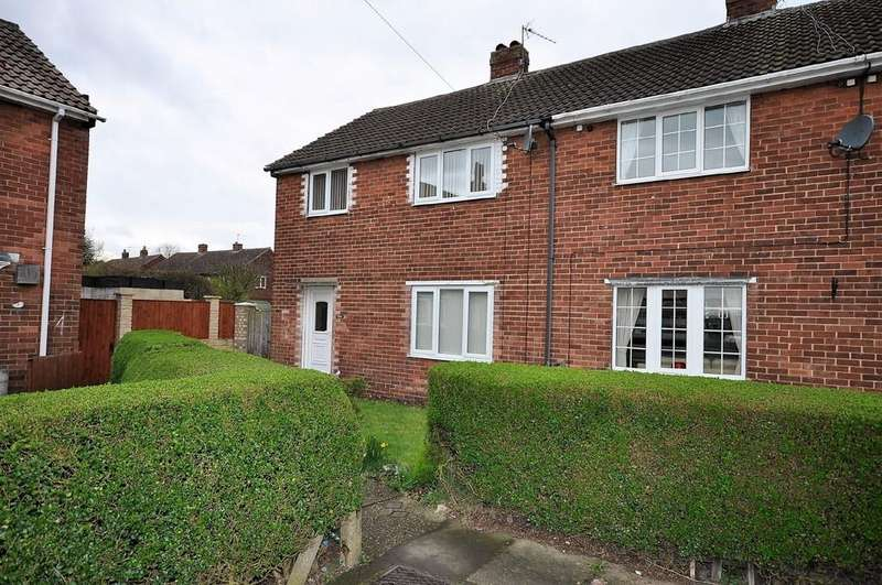 3 Bedrooms Semi Detached House for sale in Wike Gate Grove, Thorne, Doncaster