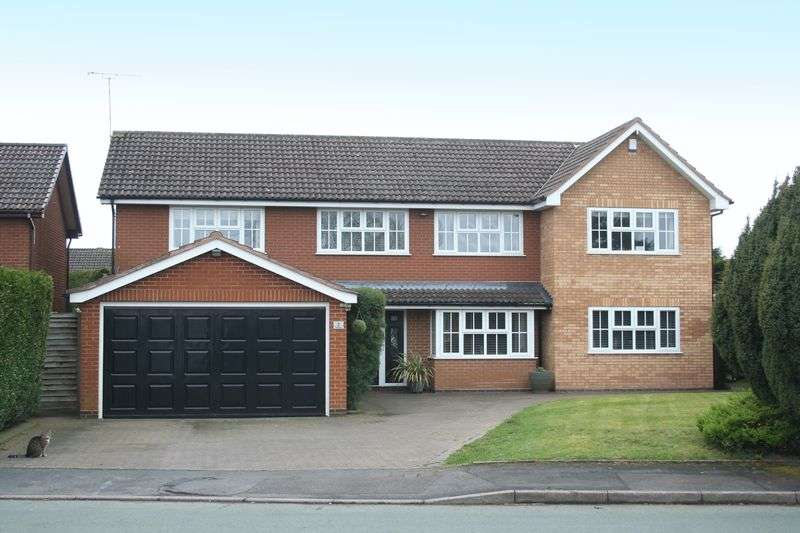 5 Bedrooms Detached House for sale in WOMBOURNE, Millfields Way