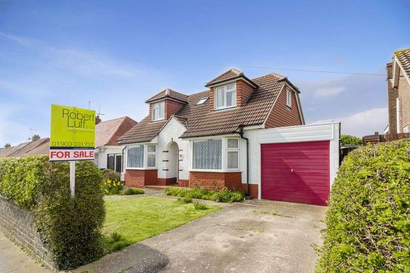 4 Bedrooms Detached House for sale in Berriedale Drive, Lancing