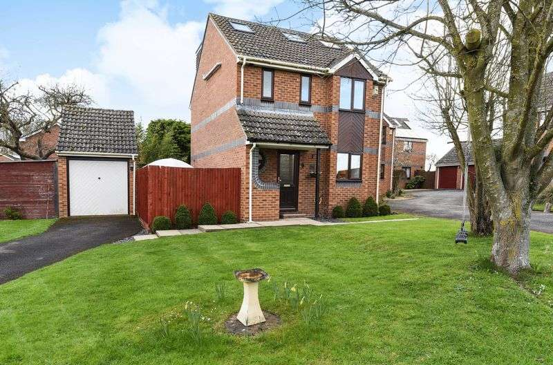 4 Bedrooms Detached House for sale in Anson Close, Marcham