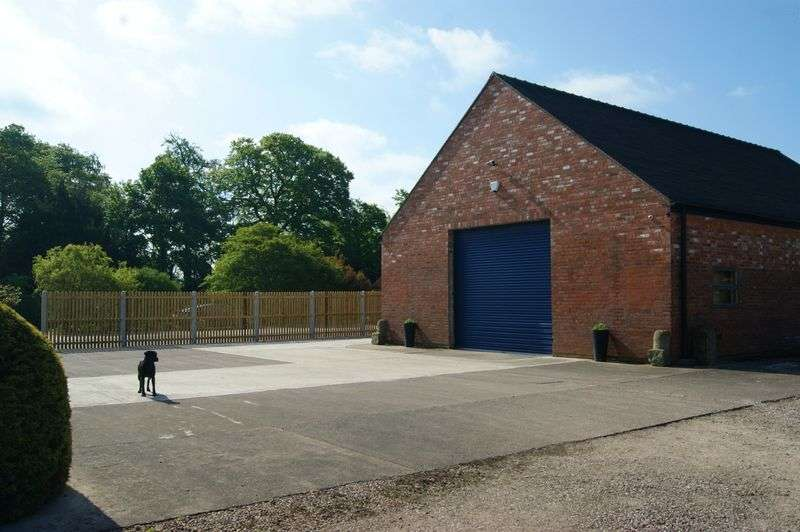 Land Commercial for sale in Plot Lea Farm Tunstall Lane, Bishops Offley, near Eccleshall