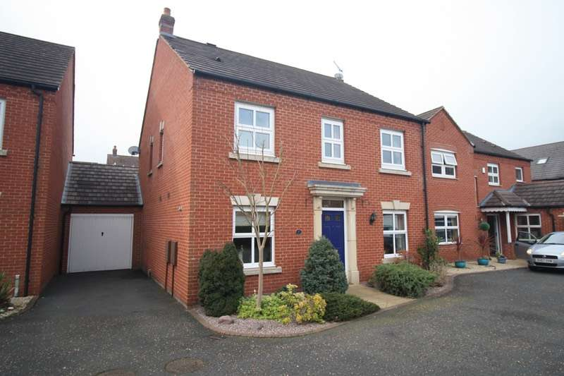 4 Bedrooms Detached House for sale in Ward Close, Lichfield, WS13
