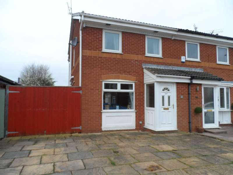 2 Bedrooms Semi Detached House for sale in Swallow Close, Cleveleys, FY5 2JN