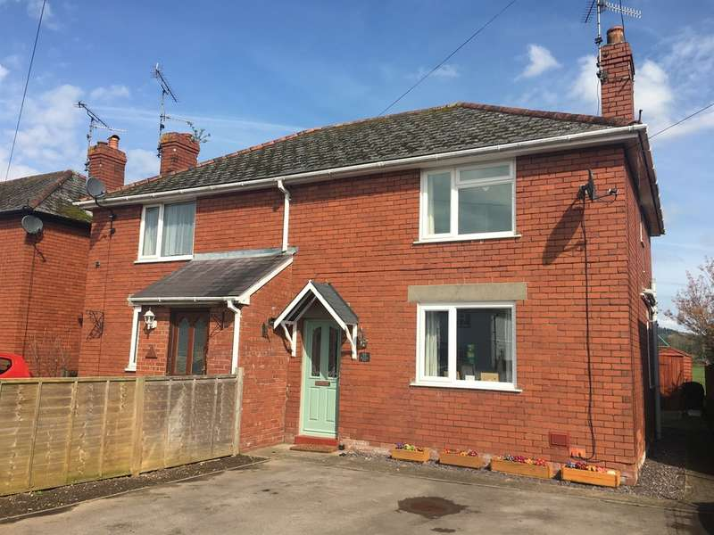 3 Bedrooms Semi Detached House for sale in Rockfield Road, Monmouth