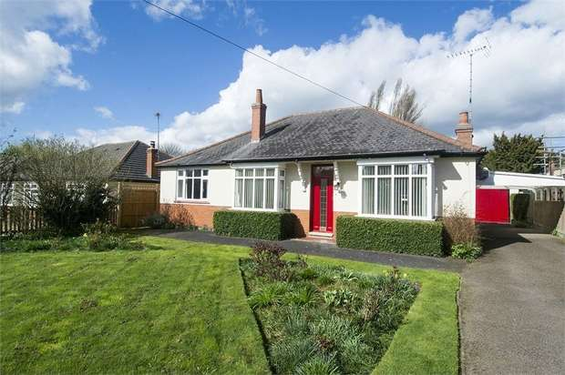 3 Bedrooms Detached Bungalow for sale in 'Melford', New Road, Kibworth Harcourt, LEICESTER