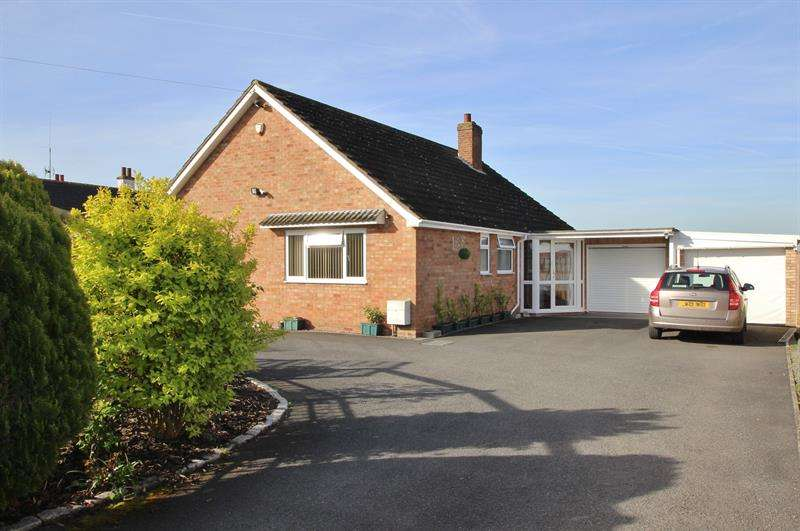 3 Bedrooms Detached Bungalow for sale in Second Avenue, Greytree, Ross-On-Wye
