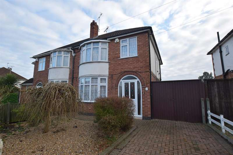 3 Bedrooms Semi Detached House for sale in Lamborne Rd , Knighton, Leicester, LE2 6HP