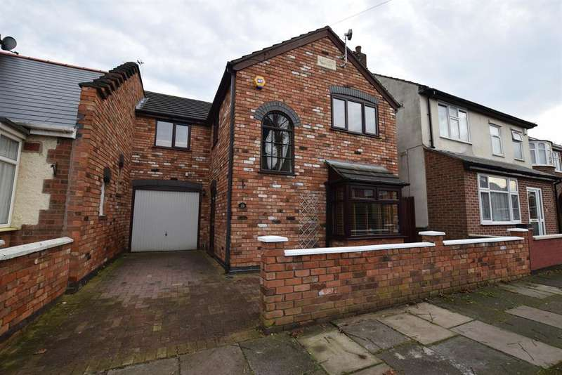 4 Bedrooms Link Detached House for sale in Naseby Road, Leicester, LE4 9FH