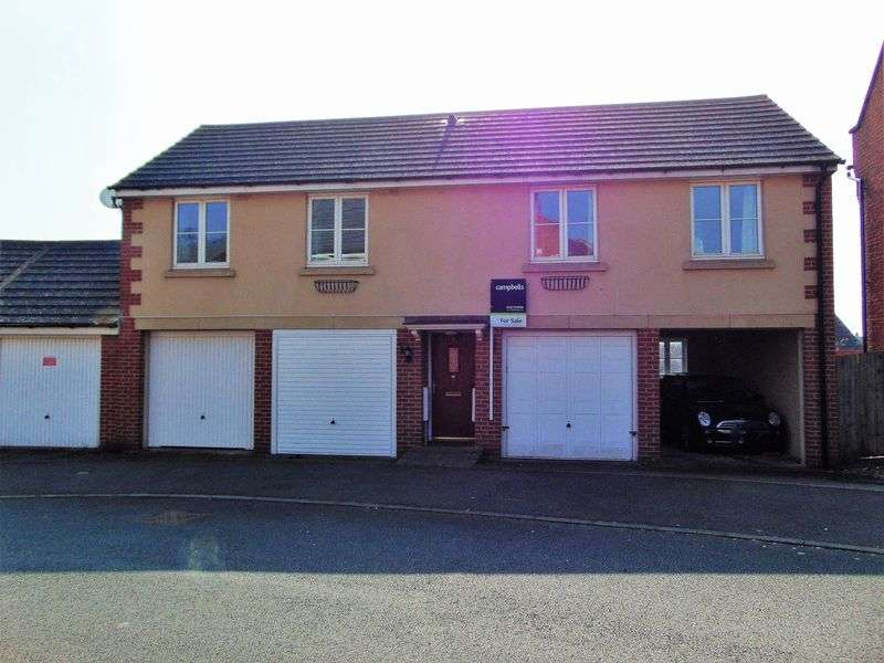 2 Bedrooms Detached House for sale in Packwood Close, Daventry, NN11 8AJ