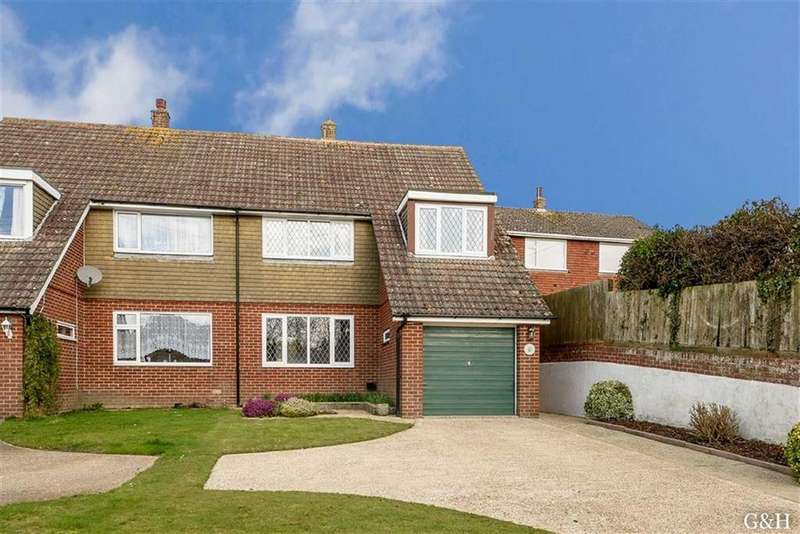 3 Bedrooms Semi Detached House for sale in Swan Lane, Sellindge, Nr Ashford