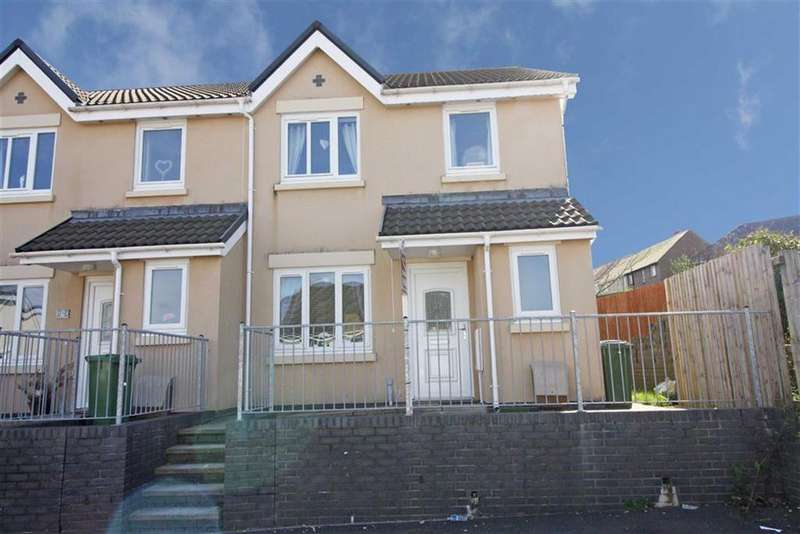 3 Bedrooms End Of Terrace House for sale in Pendarren Court, Rhigos, Aberdare