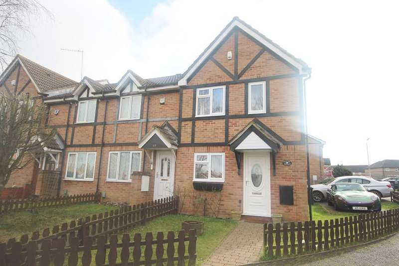 3 Bedrooms End Of Terrace House for sale in Swan Mead, Luton, LU4