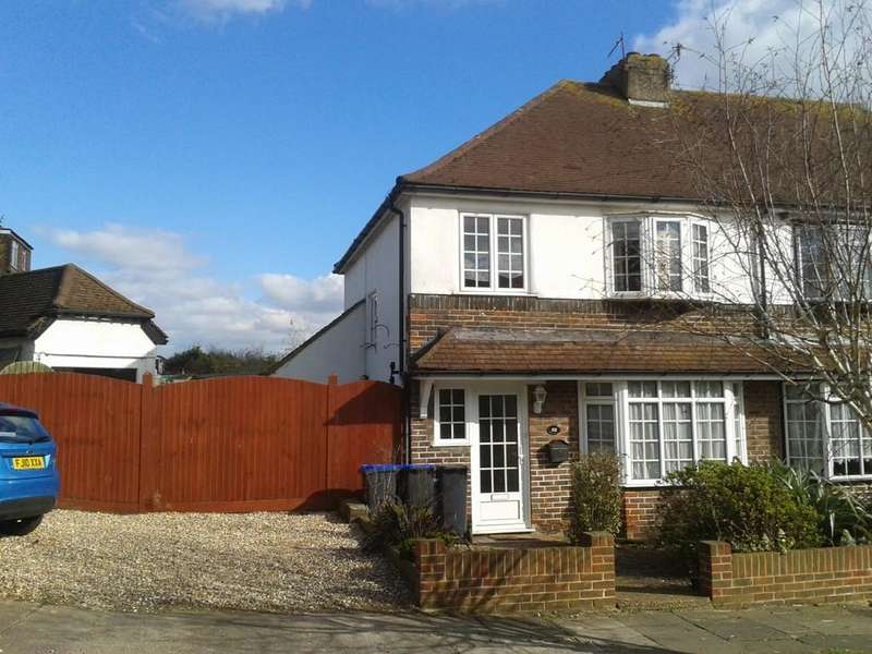 3 Bedrooms Semi Detached House for sale in Greenways Crescent, Shoreham-by-Sea