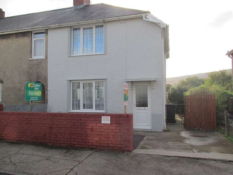 3 Bedrooms Semi Detached House for sale in Penmark Row, Hirwaun, Aberdare