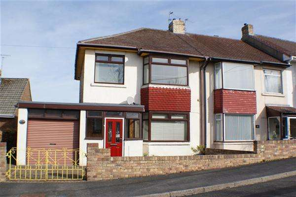 3 Bedrooms Semi Detached House for sale in Watergate Road, Castleside, Consett