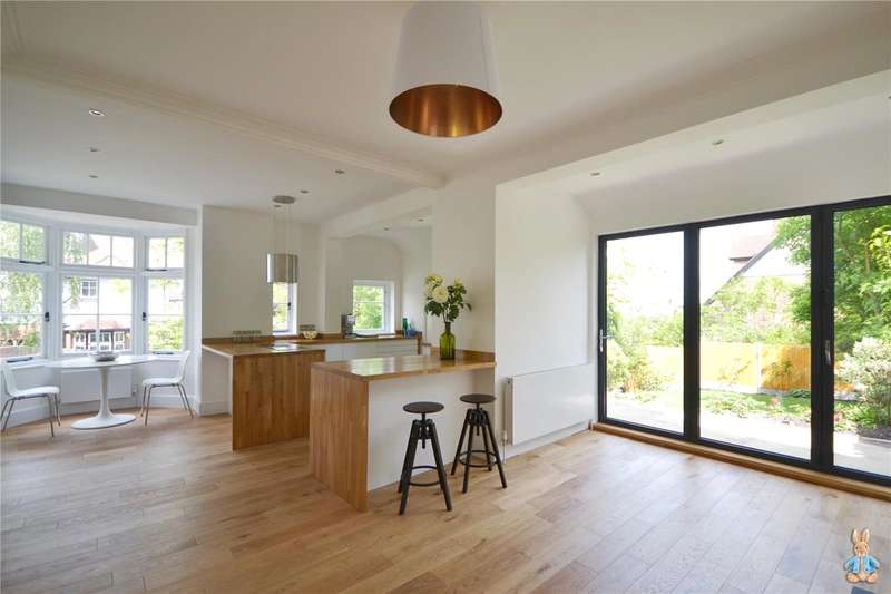 5 Bedrooms Semi Detached House for sale in Montenotte Road, Crouch End, London, N8
