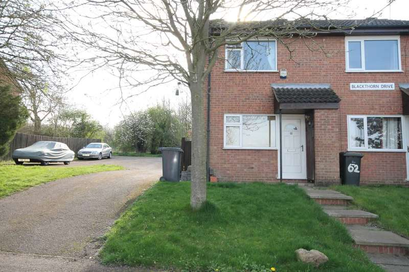 2 Bedrooms End Of Terrace House for sale in Blackthorn Drive, Anstey Heights