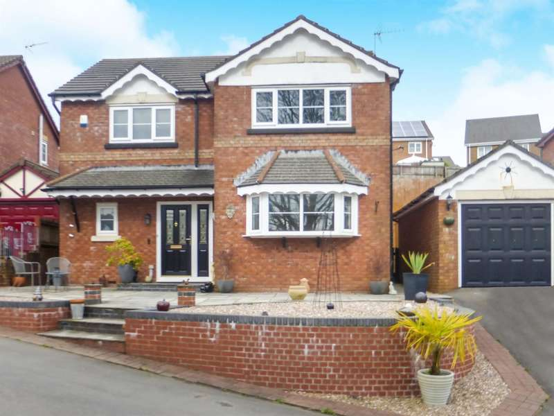 4 Bedrooms Detached House for sale in Gwern Heulog, Tonyrefail, Porth
