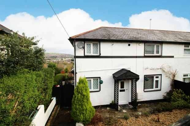2 Bedrooms Semi Detached House for sale in Bryngwyn, Caerphilly, Mid Glamorgan, CF83 1ES