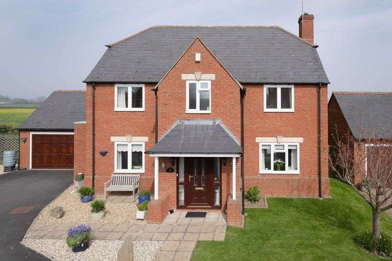 4 Bedrooms Detached House for sale in Bramley Court, Kings Acre Road, Hereford, HR4 0SB