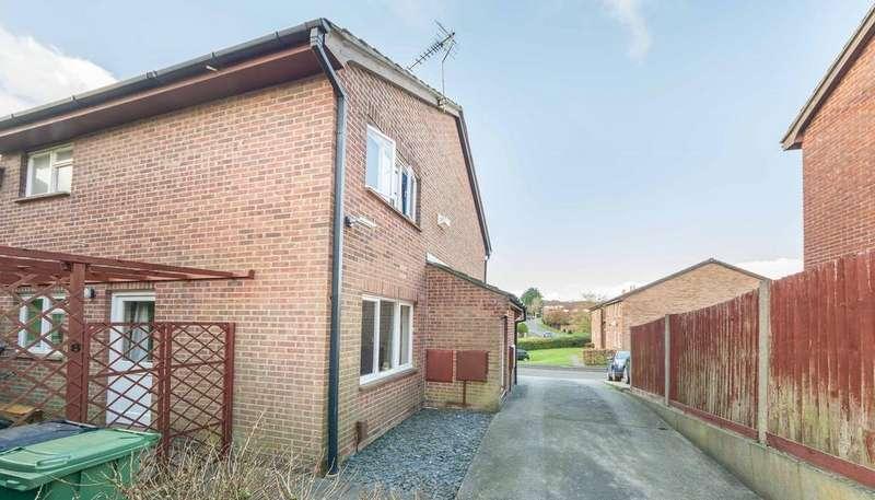 1 Bedroom Terraced House for sale in Lancaster Close, Bursledon Green, Southampton SO31