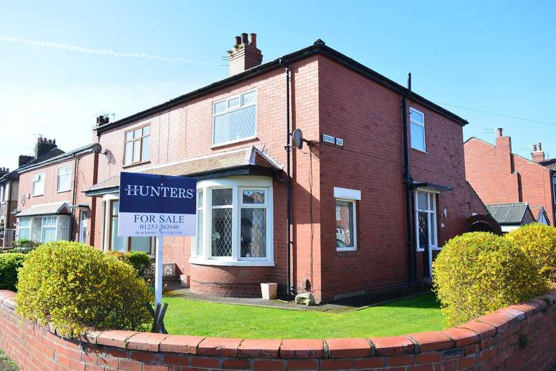 3 Bedrooms Semi Detached House for sale in Berwick Road, South Shore, Blackpool, FY4 2PS