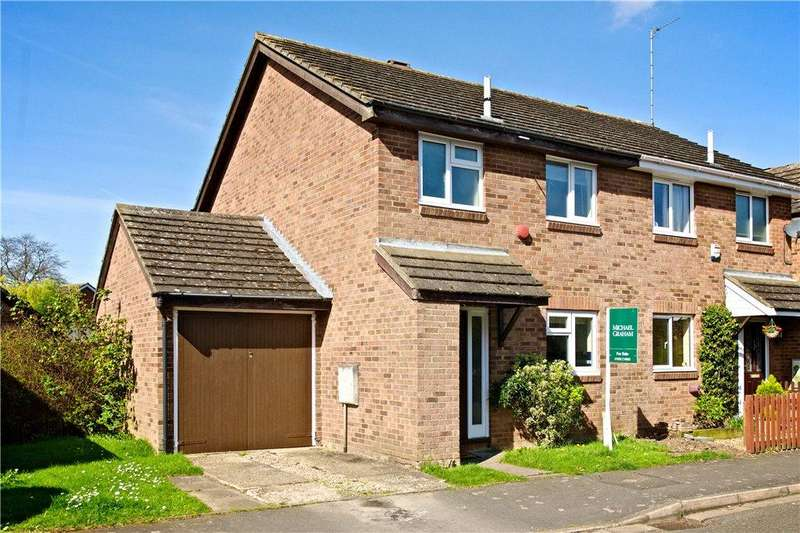 3 Bedrooms Semi Detached House for sale in Milton Drive, Newport Pagnell, Buckinghamshire