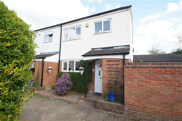 3 Bedrooms End Of Terrace House for sale in Goldsworthy Way, Cippenham, Slough