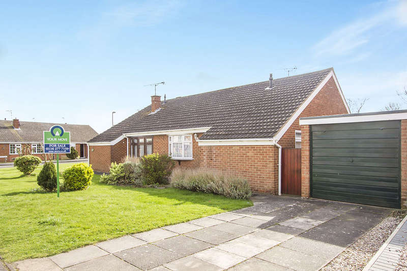 2 Bedrooms Semi Detached Bungalow for sale in Willow Drive, Countesthorpe, Leicester, LE8