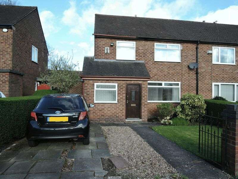 3 Bedrooms Semi Detached House for sale in Crossacres Road, Manchester