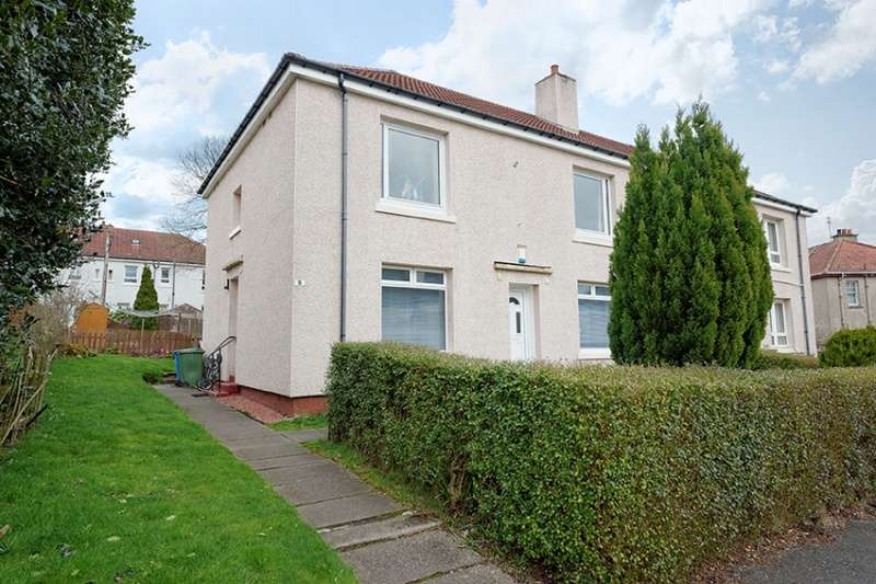 2 Bedrooms Flat for sale in Cloberhill Road, Knightswood, Glasgow, G13 2JJ