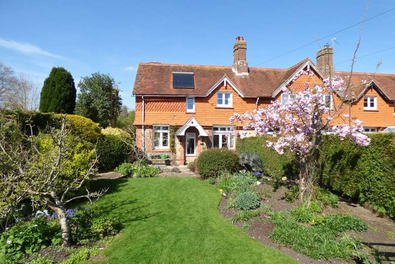 3 Bedrooms End Of Terrace House for sale in Southview, The Alley, Stedham, Midhurst, GU29