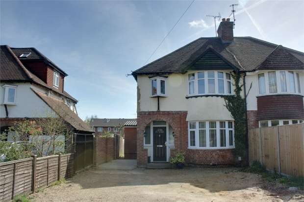 3 Bedrooms Semi Detached House for sale in Weybourne Road, Farnham, Surrey