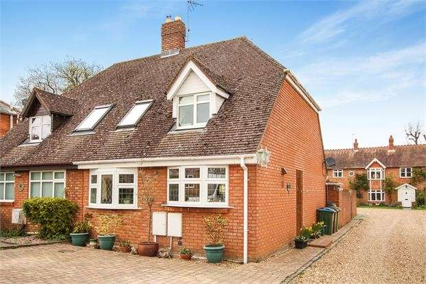 3 Bedrooms Semi Detached House for sale in The Grove, Waddesdon, Buckinghamshire. HP18 0LF