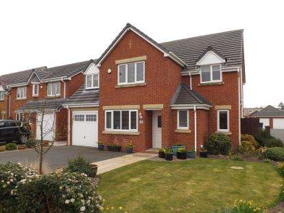 5 Bedrooms Detached House for sale in Regency Gardens, New Longton, Preston, Lancashire, PR4