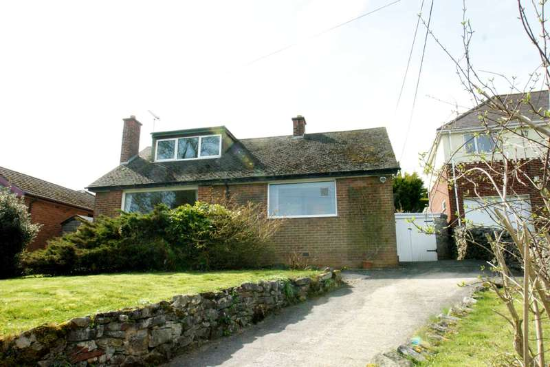 2 Bedrooms Detached Bungalow for sale in Pentre Road, Halkyn, Holywell, Flintshire. CH8 8BS