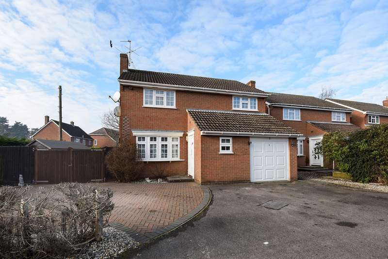 3 Bedrooms Detached House for sale in Hepplewhite Close, Baughurst, Tadley, RG26