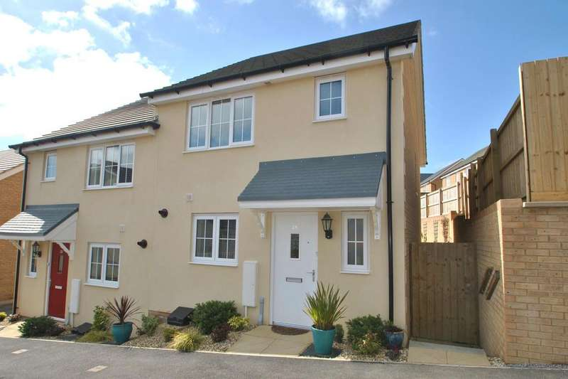 3 Bedrooms Semi Detached House for sale in Centenary Way, Threemilestone