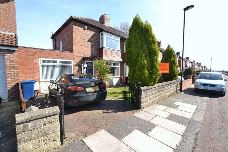 2 Bedrooms Semi Detached House for sale in Sherfield Drive, Newcastle Upon Tyne