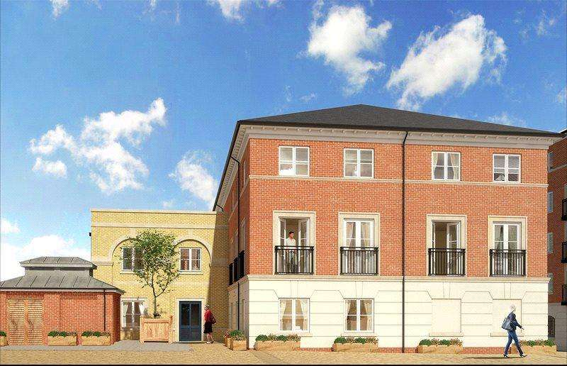 2 Bedrooms Flat for sale in Worcester, Worcestershire, WR1