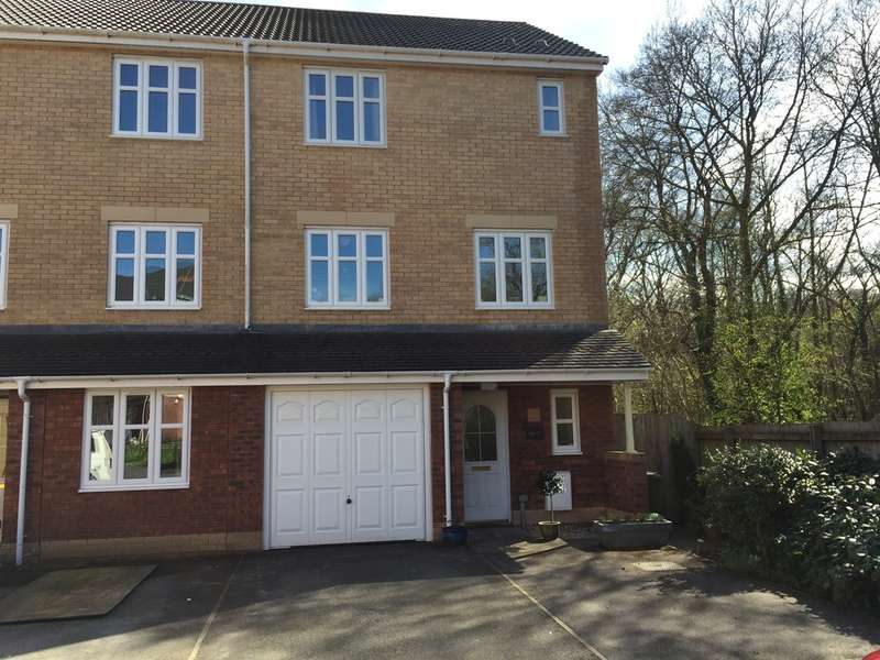 3 Bedrooms Semi Detached House for sale in Meadow Way, Tyla Garw, Pontyclun