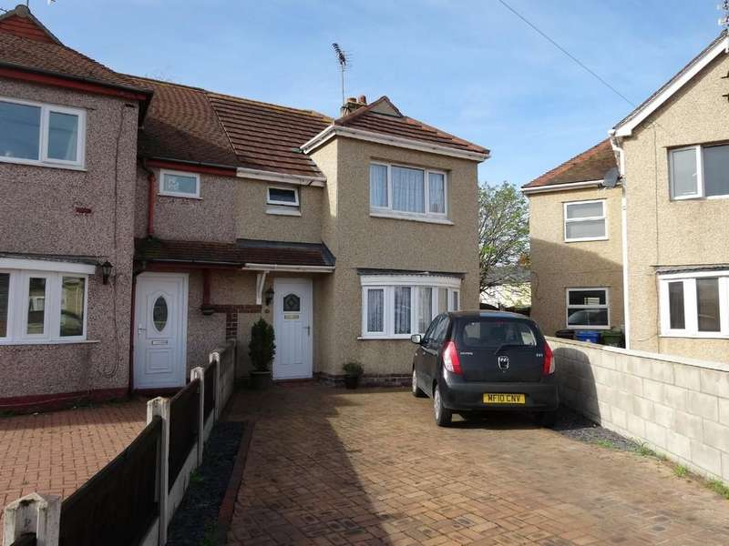 2 Bedrooms Semi Detached House for sale in Brookdale Road, Rhyl