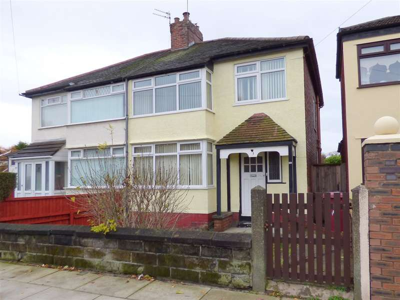 3 Bedrooms Semi Detached House for sale in Milton Avenue, Huyton, Liverpool