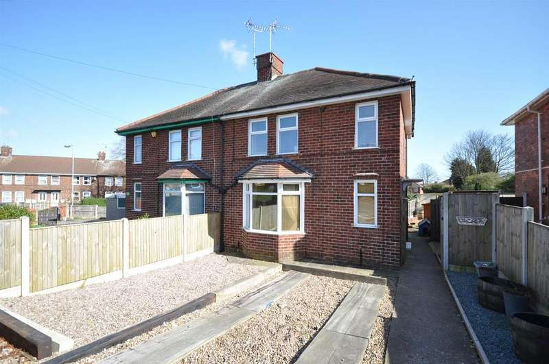 3 Bedrooms Semi Detached House for sale in Kirkby Road, Sutton-In-Ashfield