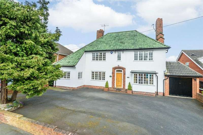 4 Bedrooms Detached House for sale in Lea Bank Avenue, Kidderminster, Worcestershire