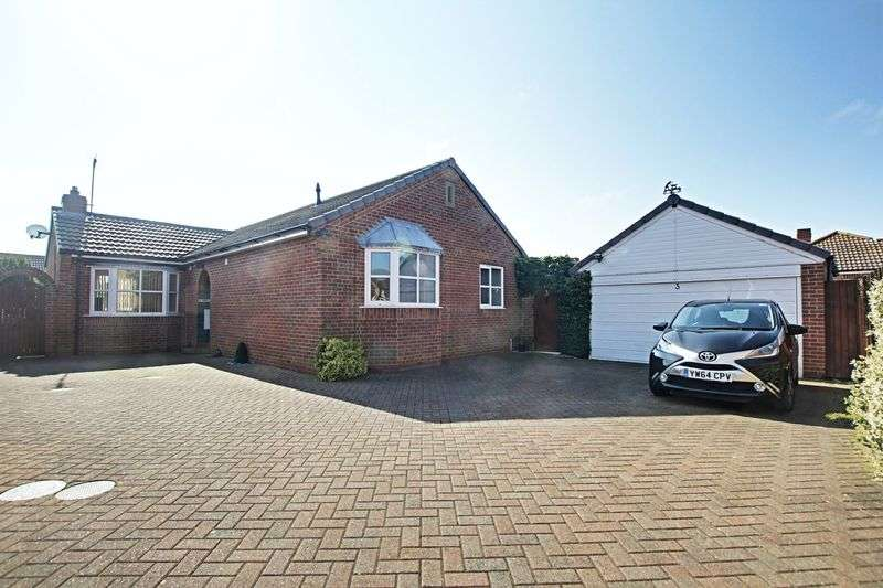 3 Bedrooms Detached Bungalow for sale in Chaytor Close, Hedon