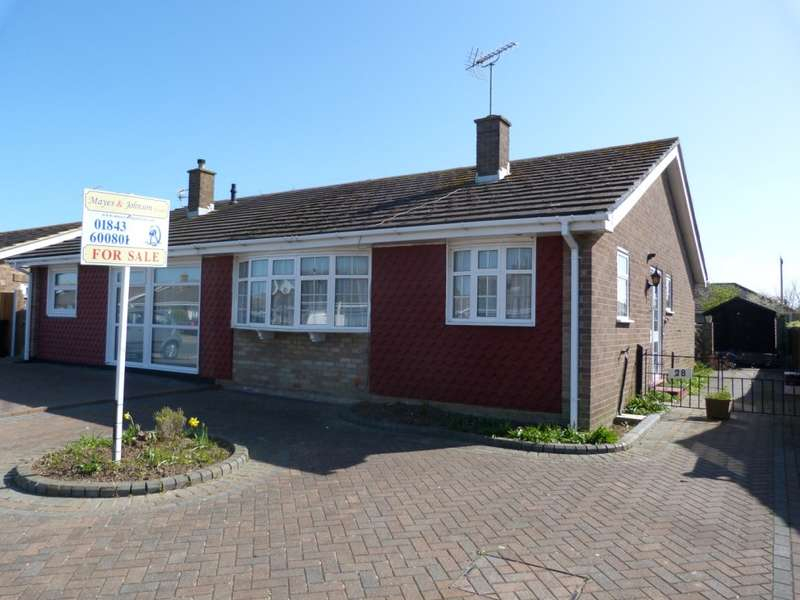 2 Bedrooms Semi Detached Bungalow for sale in Marshall Crescent, Broadstairs