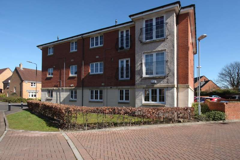 2 Bedrooms Flat for sale in 19 Wilkie Place, Larbert Falkirk, FK5 4GW