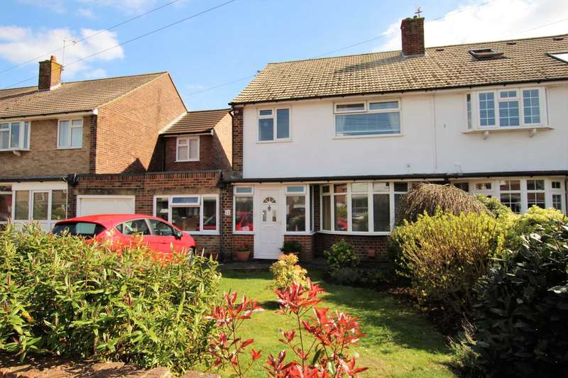4 Bedrooms Semi Detached House for sale in Astaire Avenue, Eastbourne, BN22 8UN